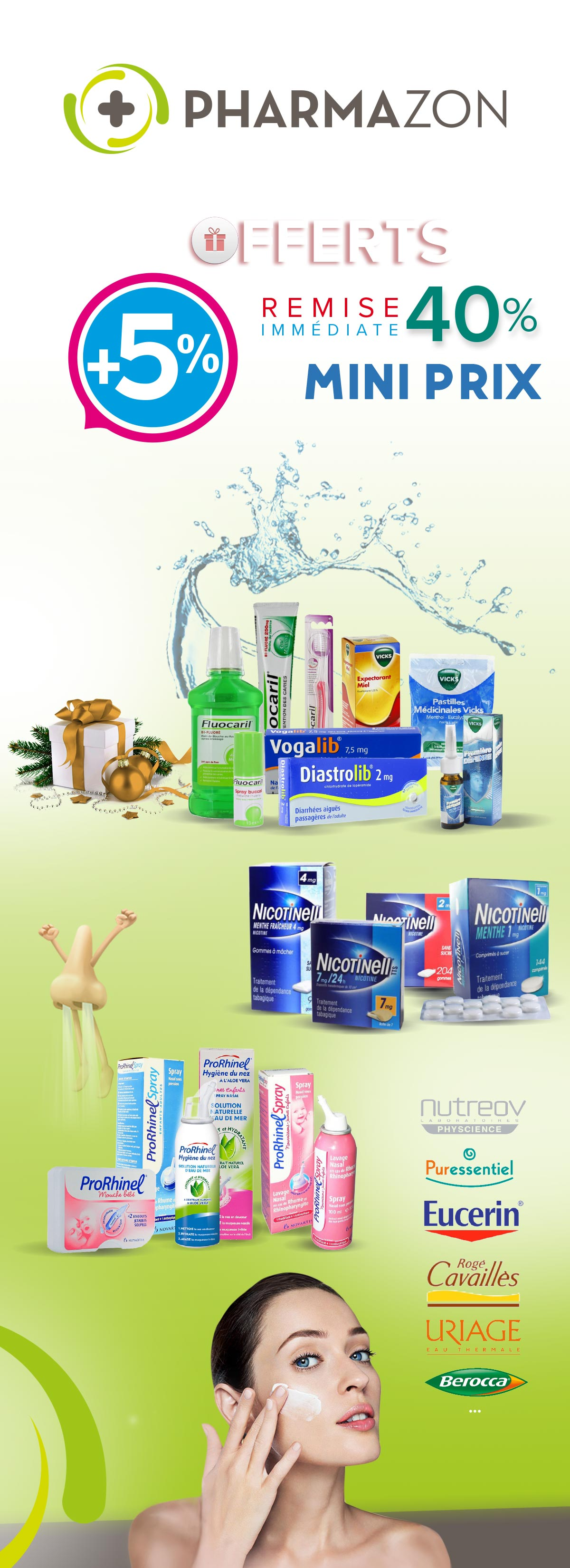 Branding, Pharmazon, produits pharmaceutiques, logo, web design, print, app, idée, ui/ux, marque, communication,