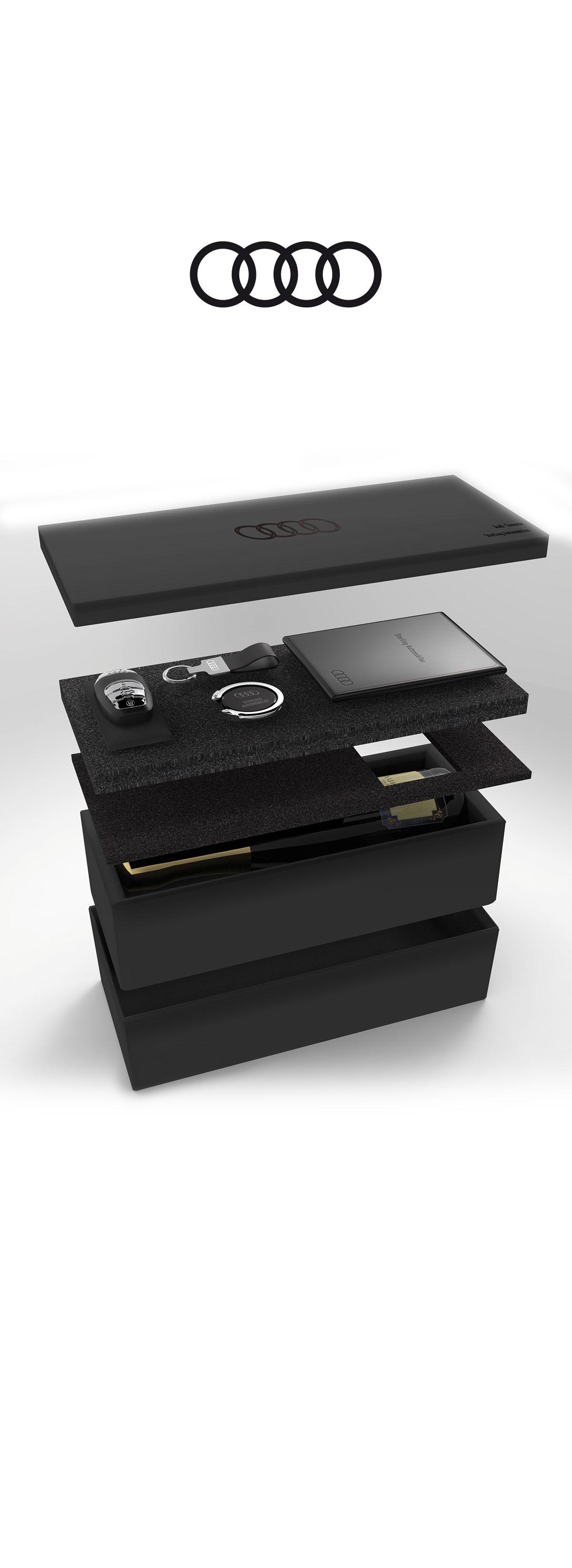 Audi, Welcome bow, Objet 3d, Photo Réalisme